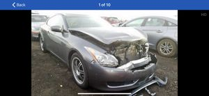 2010 infinity g37 for parts call Turbo Team auto wrecking for your parts more than 800 cars for part for Sale in Chula Vista, CA