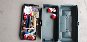 Fishing tackle box. Bought for boy scout camping trip. for Sale in Clearwater, FL