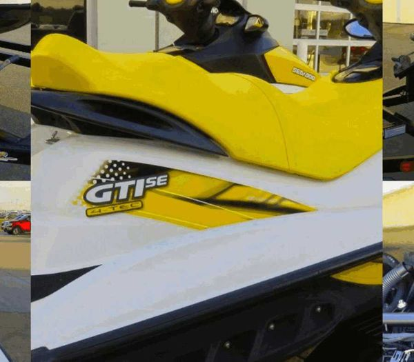 2x 07Sea Doo GTISE and Trailer