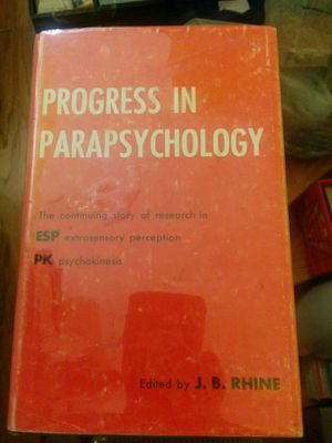 Progress in Parapsychology book for Sale in San Francisco, CA