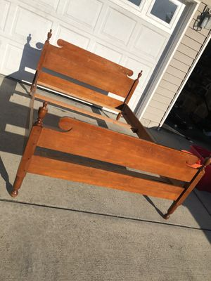 Solid Maple Full Size Bed Frame for Sale in Vancouver, WA