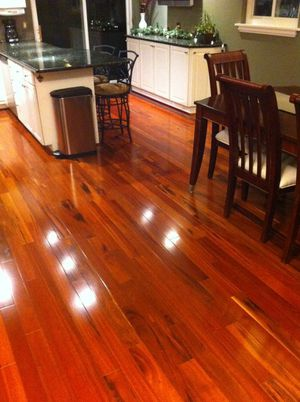 "BELLAWOOD Brazilian Koa 3/4"" x 3-1/4"" prefinished hardwood floor. **INCLUDES NAIL GUN** for Sale in Walkersville, MD"