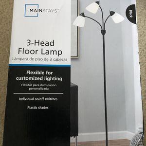 3 Head Floor Lamp for Sale in Ashburn, VA