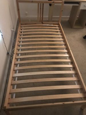 Ikea twin bed with spring mattress for Sale in Washington, DC