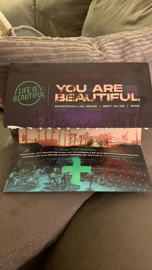 """Life is Beautiful"" Las Vegas,NV for Sale in El Cajon, CA"