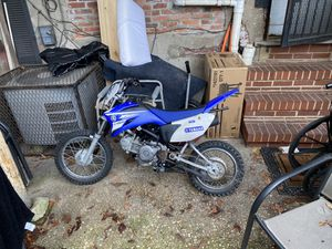 Ttr 110 (2012) Yamaha Dirt Bike for Sale in Baltimore, MD
