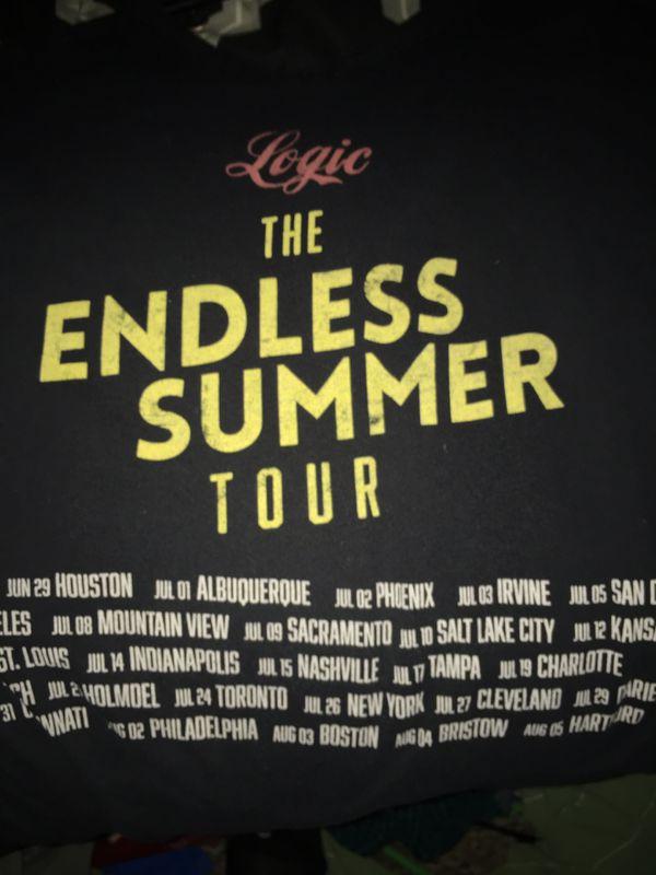 Logic endless summer tour shirt