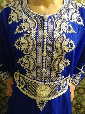 New 2 piece blue & white floral long-sleeved dress for Sale in Malden, MA