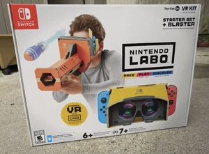 Nintendo labo vr kit for Sale in Beltsville, MD