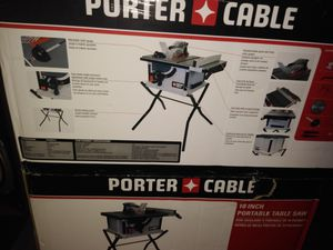 Porter Cable Table Saw for Sale in McDonough, GA