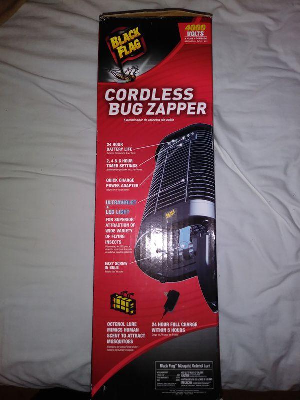 Black Flag Cordless Bug Zapper W/ Refills for Sale in Palm Harbor, FL -  OfferUp