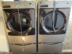 Kenmore Elite Washer & 220v Electric Dryer Set for Sale in Lakeside, CA