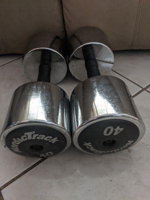 NordicTrack 40 lb dumbbell set! for Sale in Holiday, FL