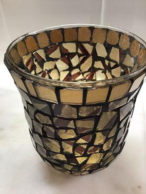 Candle Holders Glass Home Accent Piece for Sale in Norco, CA