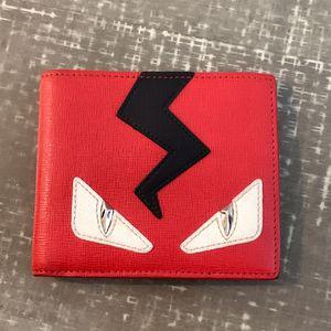 Fendi Bag Bugs Leather Bi-fold Wallet for Sale in Los Angeles, CA