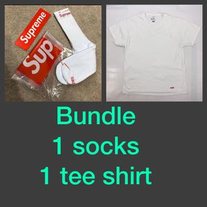 Supreme men's tee shirt new small for Sale in Boca Raton, FL