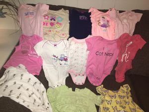 Lot of 0-3m & 3m baby girl clothes for Sale in Audubon, NJ