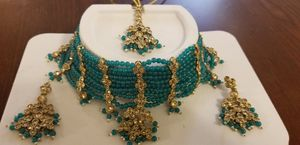 Choker with tikka and earnings for Sale in Alexandria, VA