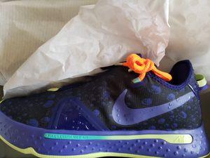 Brand New Men's Nike PG 4 Gatorade GX Basketball Shoes Purple/Orange Size: 10 for Sale in San Jose, CA