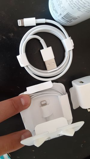 Apple charger and headphones for Sale in Tucson, AZ