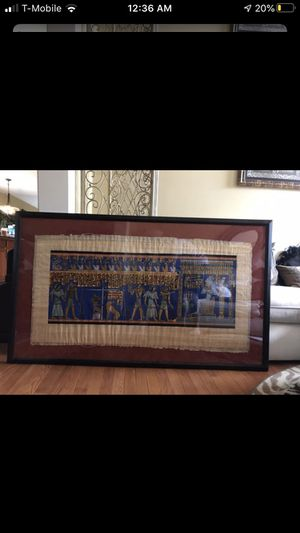 Large picture frame for Sale in Fairfax Station, VA