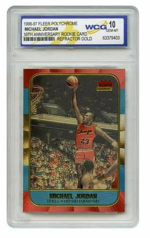 Michael Jordan Refractored card for Sale in El Monte, CA