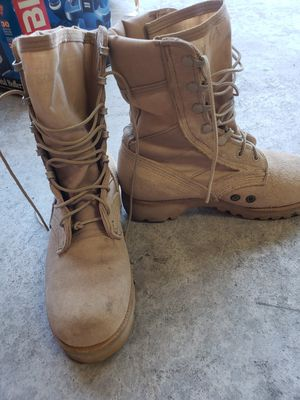 Combat boots for Sale in Beaumont, CA