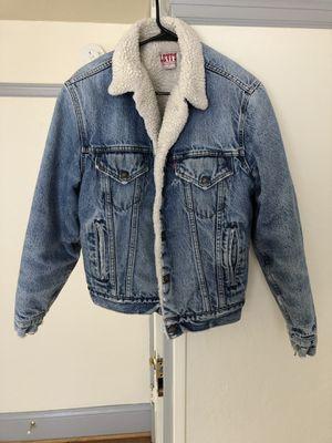 Vintage Levi's Sherpa lined denim jacket for Sale in Portland, OR