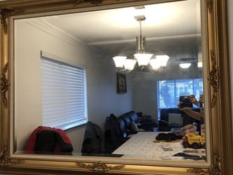 gold plated mirror for Sale in Staten Island,  NY