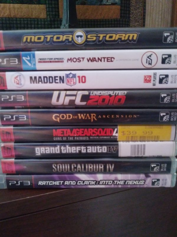 Ps3 games all for $25