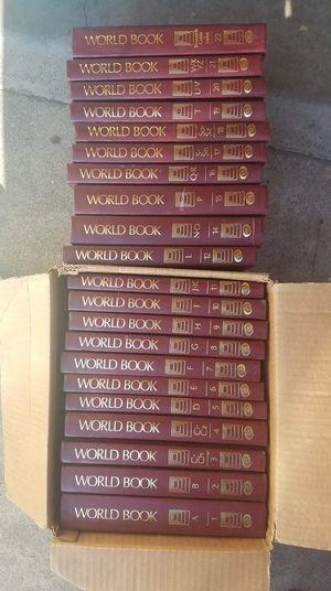 21 units of encyclopedia, the number 13 is missing otherwise everything is in very good condition. Pick up in Montebello. Check out my other offers. for Sale in Montebello, CA