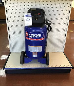 Campbell Hausfeld 22 gal standup compressor for Sale in Douglasville, GA