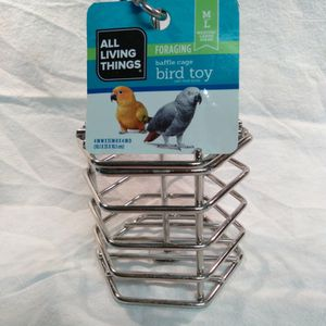 Metal Bird Cage Toy For Large Birds for Sale in Fort McDowell, AZ