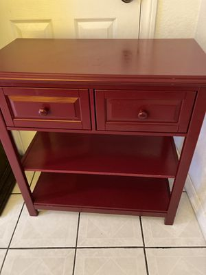2 drawers and shelves cabinet almost new for Sale in Los Angeles, CA