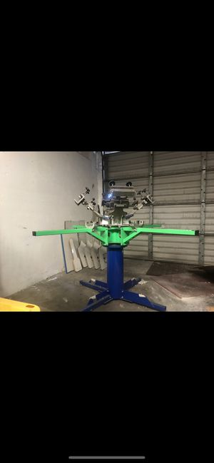 Riley Hopkins 4/4 screen printing machine for Sale in Irvine, CA
