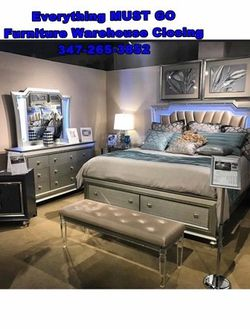fancy bedroom set. Must Go for Sale in Queens,  NY