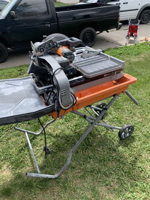 Tile wet saw for Sale in Patterson, CA