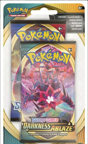 Pokemon Darkness ablaze 2 packs( 1 random pack could be rare) for Sale in St. Louis, MO