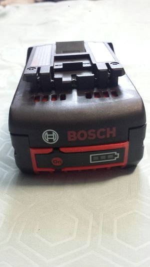 Bosch 18V Lithium-Ion 6.0 Ah Battery $80 for Sale in Everett, WA