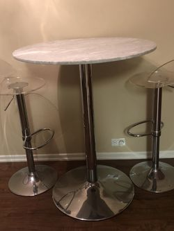 Marble Bar Table & Chairs for Sale in Newport Beach,  CA
