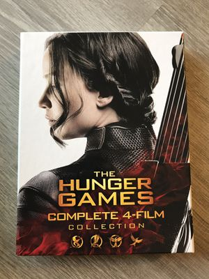 The Hunger Games 4 movie collection Blu Ray for Sale in Bremerton, WA