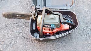 """Homelite 14"""" gas chainsaw w/case for Sale in Rockaway, NJ"""