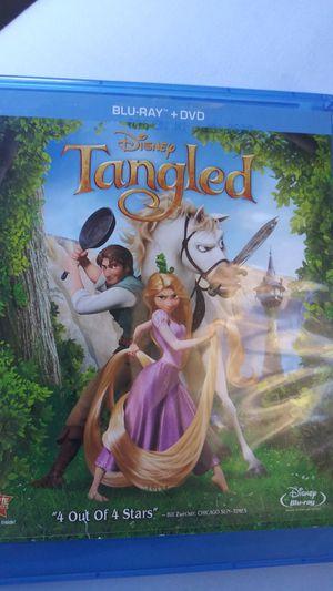 Tangled Blu-Ray for Sale in Milton, WA