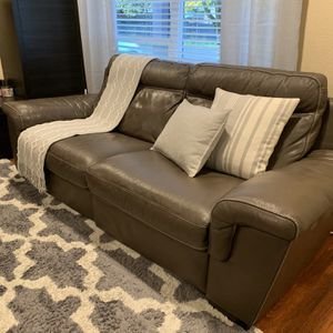 Leather Couch And Chair (Reclinable) for Sale in West Linn, OR