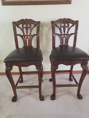 Solid wood bar stools for Sale in Westlake, OH