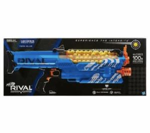 Nerf Rival Nemesis MXVII-10K, Blue for Sale in Charlotte, NC