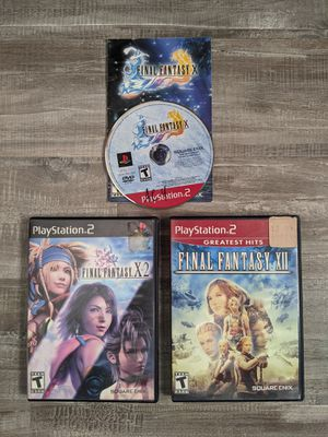 Final Fantasy PlayStation PS2 for Sale in Fontana, CA