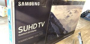 """55"""" Samsung 4K UHD TV 9 Series (Top of the line) with HDR and QLED TV for Sale in Scottsdale, AZ"""