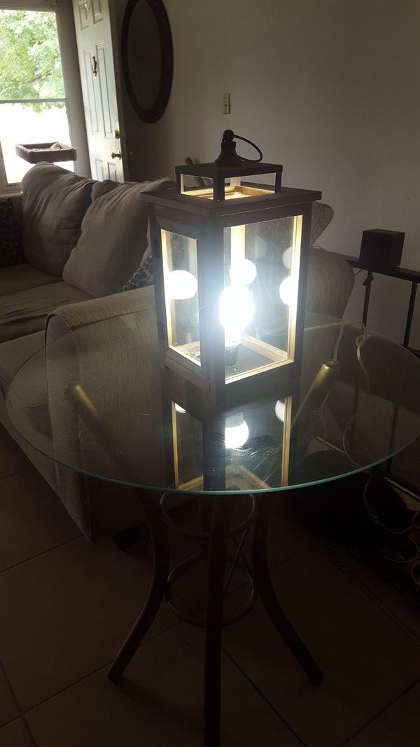 Custom table lamp