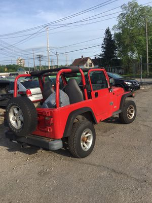 1998 Jeep Wrangler parts only for Sale in Cleveland, OH
